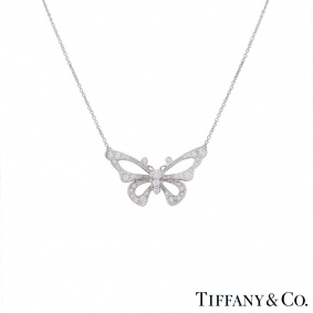 Tiffany & Co. Platinum Diamond Enchant Pendant